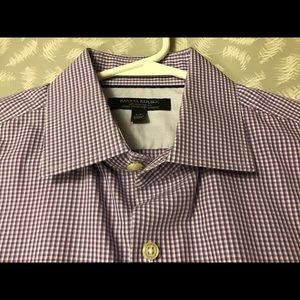 Banana Republic Men's Dress Shirt Slim Fit Size S